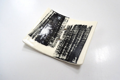 Porcelain Soap Dish with holes