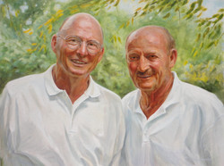 Two Brothers. Oil on Canvas