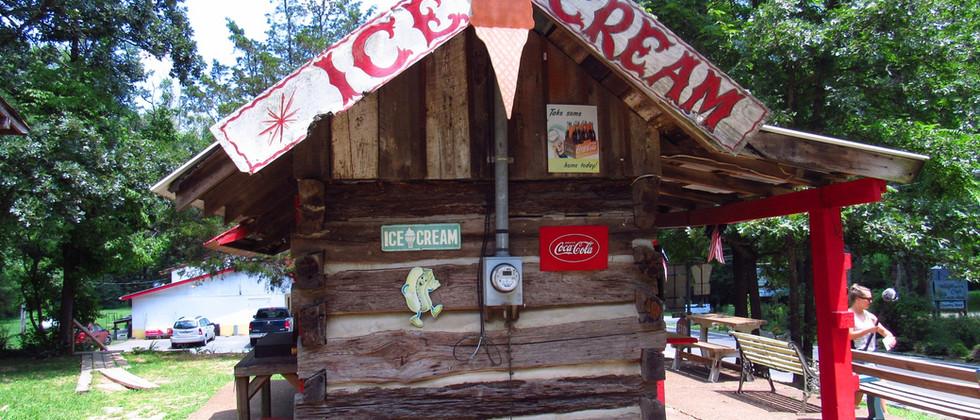 Small Town Ice Cream Shop - Mentone, Alabama