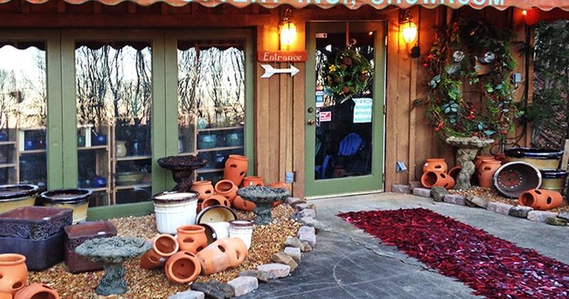 Miracle Pottery Showroom - Mentone, Alabama