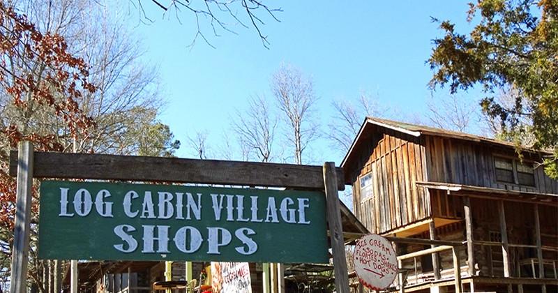 Log Cabin Village Shops - Mentone, Alabama