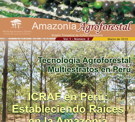 capa revista amazonia agroflorestal icra