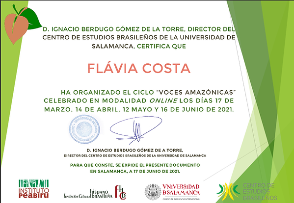certificado coordinacion voces amazonica