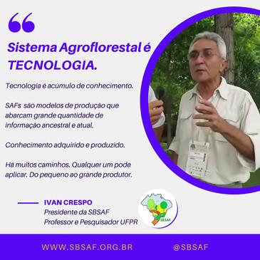 video #ivancrespo #saf #agroloresta #sis
