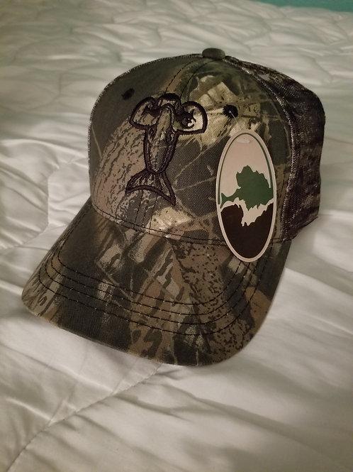 Mossy Oak Camo Trucker Hat
