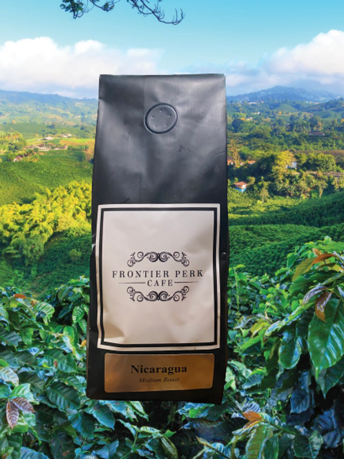 Nicaragua- Medium Roast Coffee 12 0z.