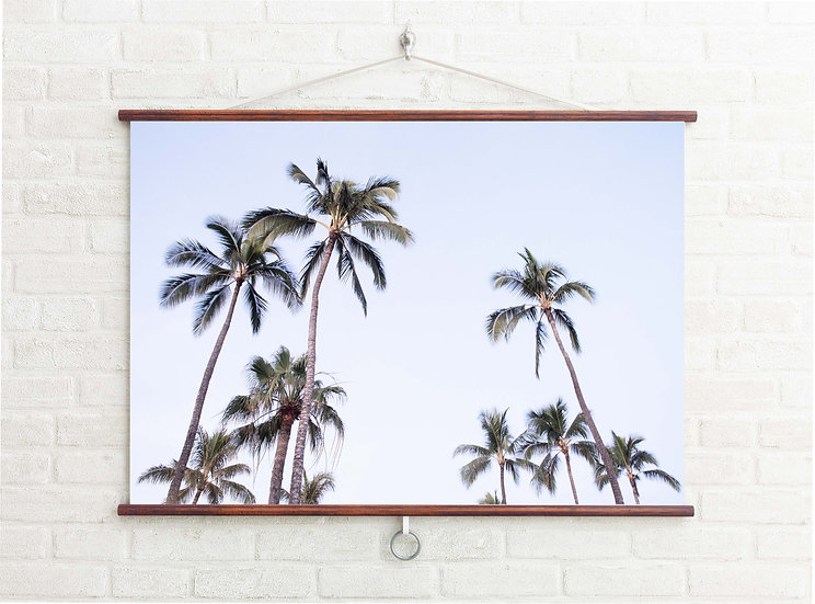 WALL BANNER -   PALM PARTY