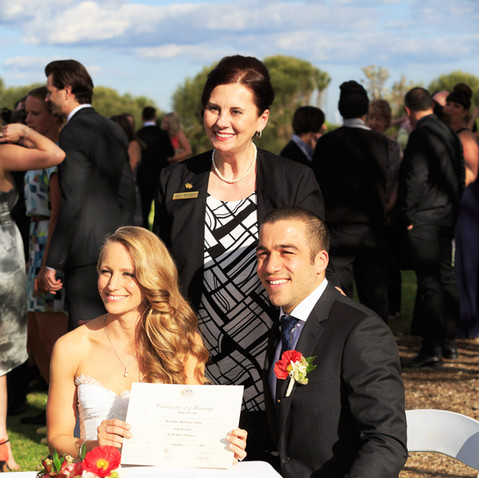 Marriage Ceremonies Melbourne - Marie Kouroulis