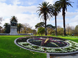 Queen Victoria Gardens - Floral Clock