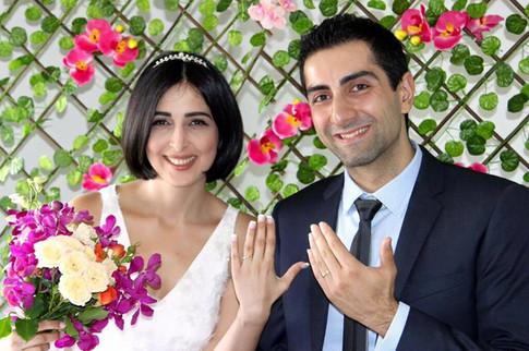 Marriage Ceremonies Melbourne - Indoor Wedding by Marie Kouroulis