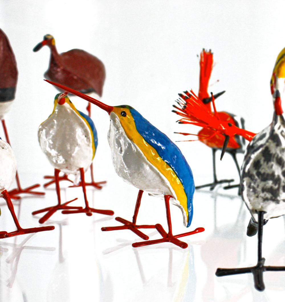 Seed Pod Birds