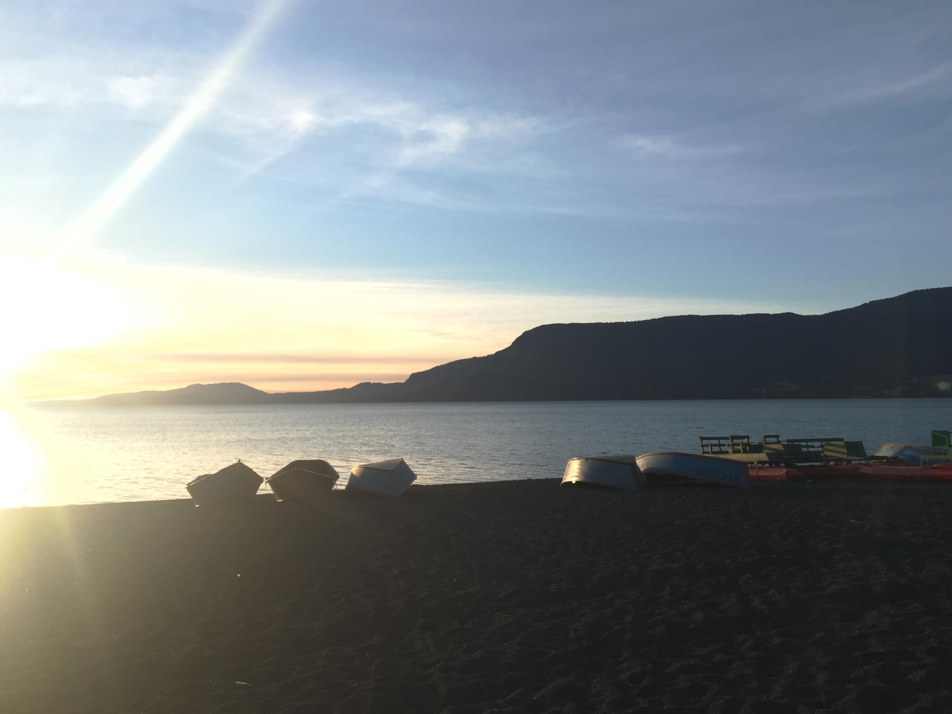 El lago Villarrica