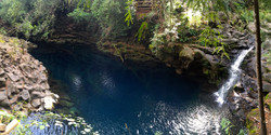 Laguna Azul, Ojos del Caburgua