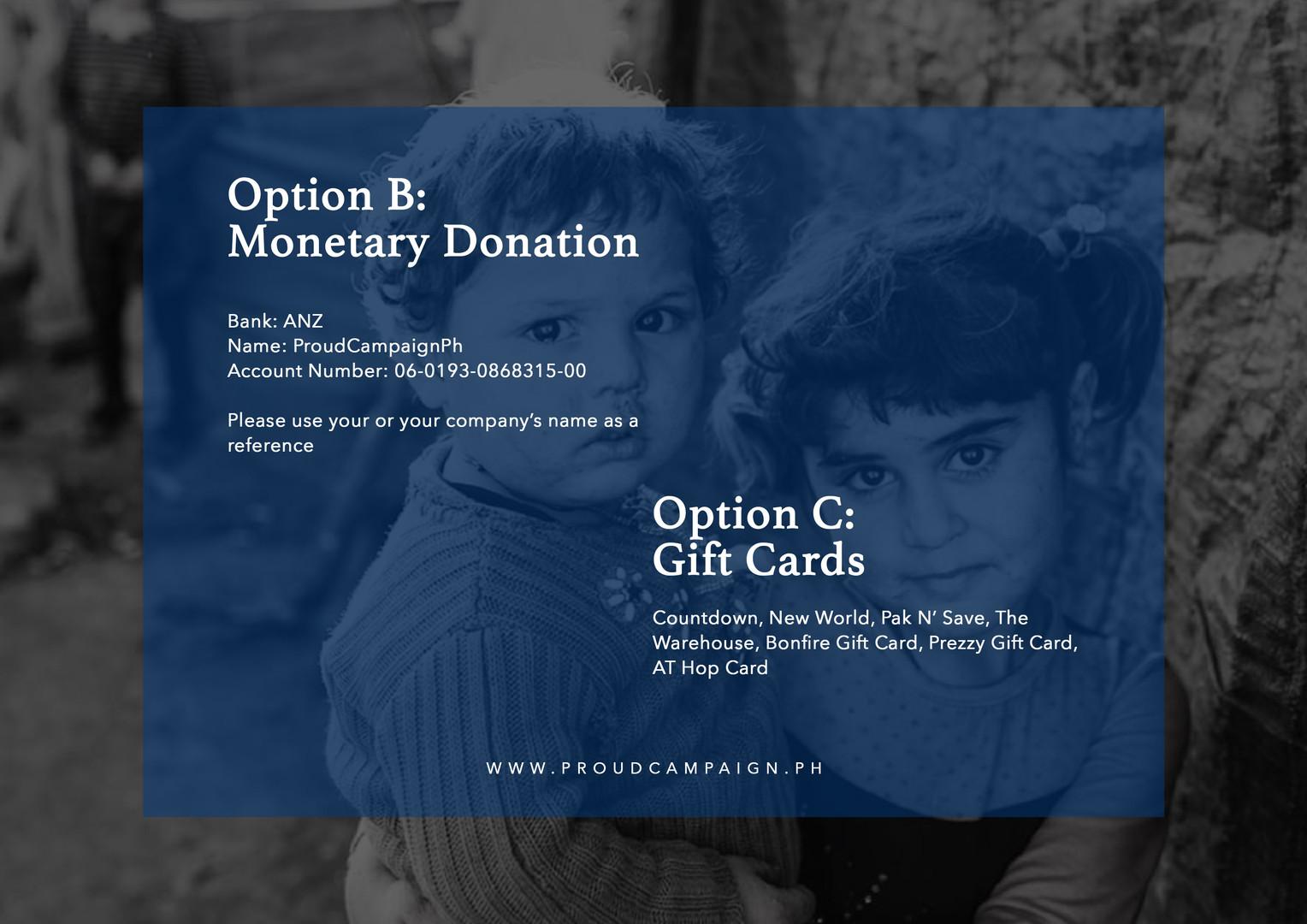 Option B & Option C