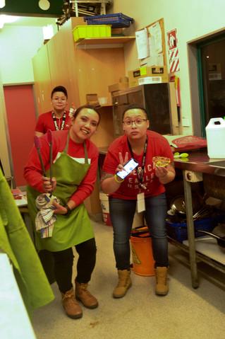 The kitchen squad