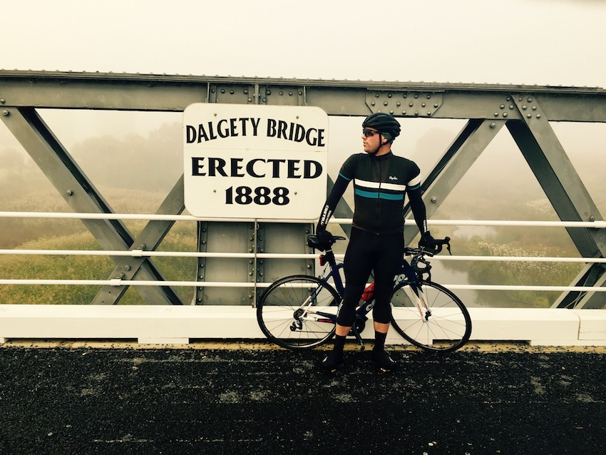 Dalgatty Bridge pose
