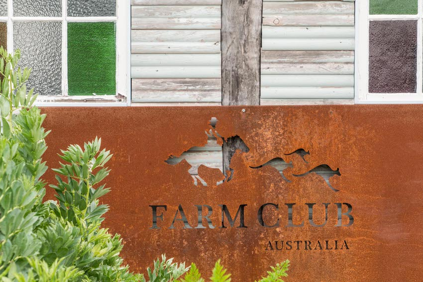 Farm Club Australia gate