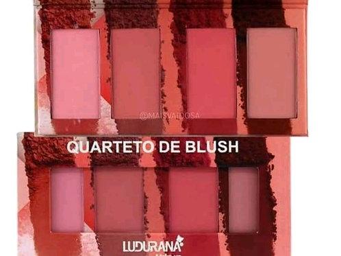 Quarteto de Blush Ludurana