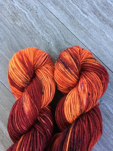DK Sparkle Merino Nylon Yarn