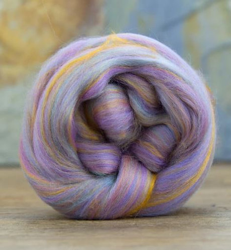 """Merino Wool and Bamboo Blended Combed Top 4 Ounces """"Itsy Bitsy"""""""