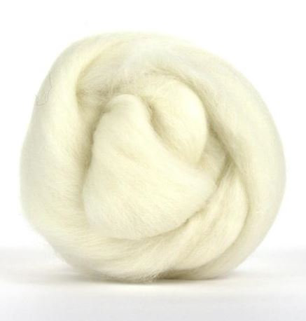 1 Pound Undyed Polwarth Combed Top For Spinning Roving