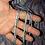 Thumbnail: BFL/Tussah Silk 2-ply Handspun Yarn