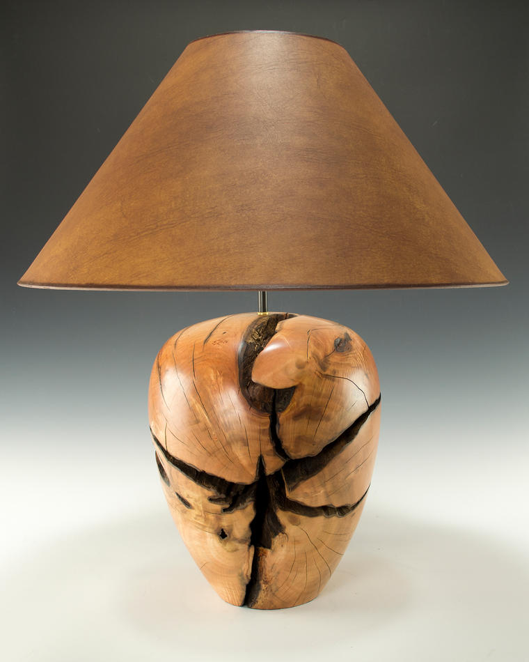 Eucalyptus Stump Lamp