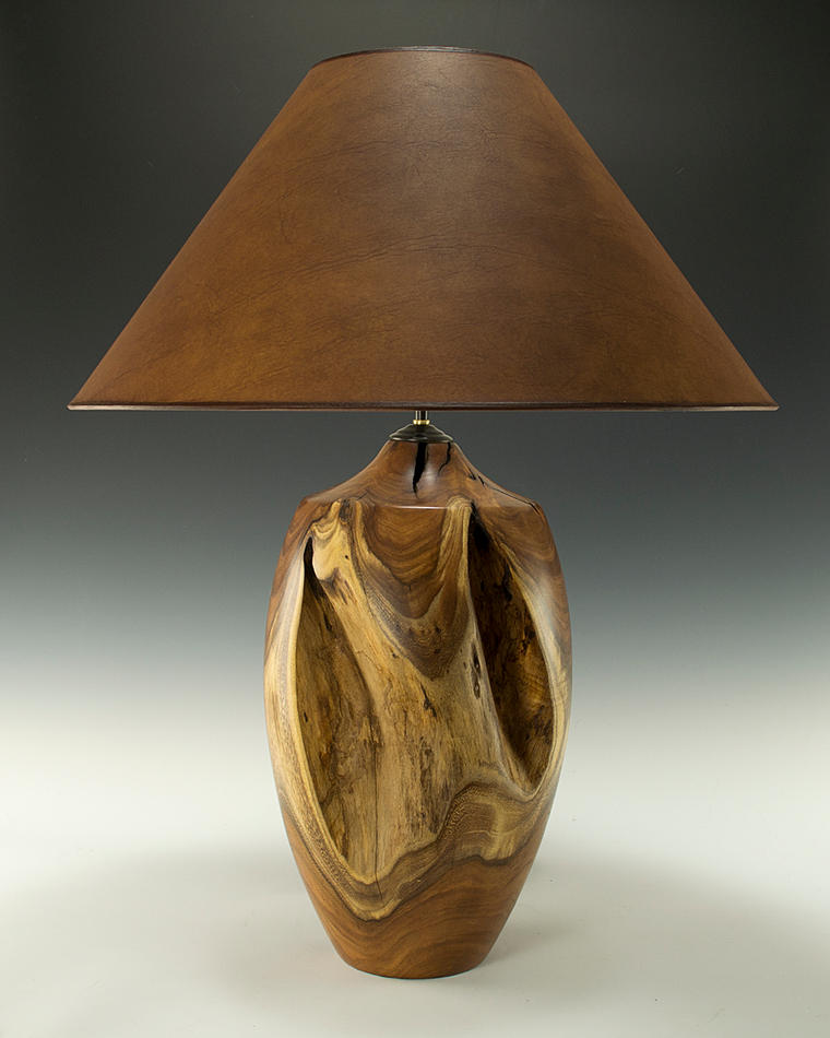Mesquite Stump Lamp