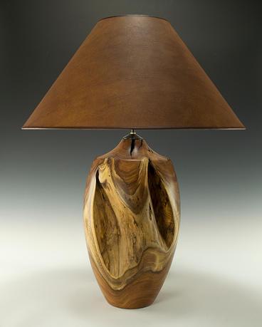 Mesquite Stump Lamp