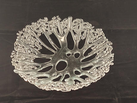 Clear Coral Bowl