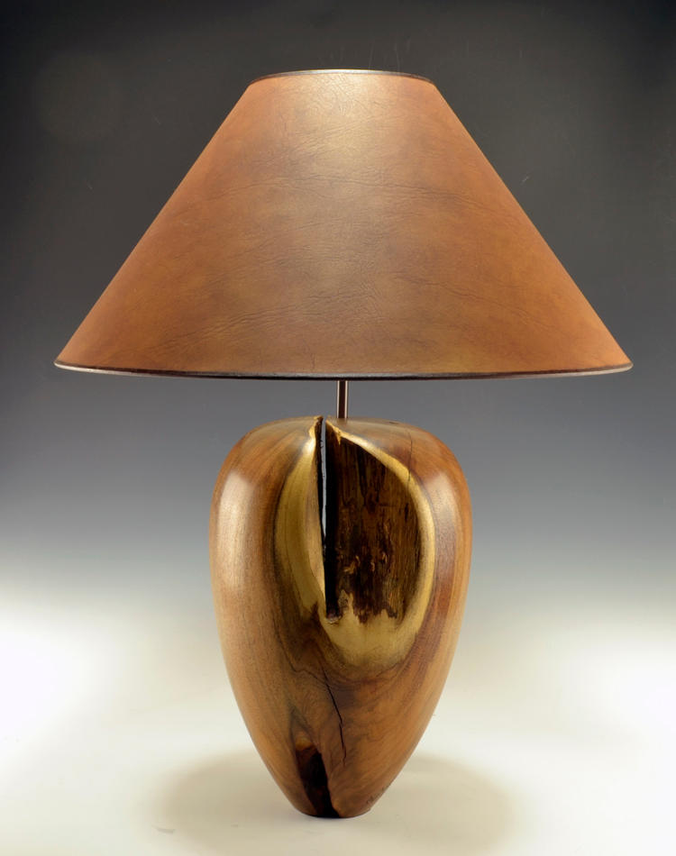 Mesquite Crotch Lamp