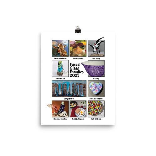 FGF 2021 Commemorative Design Photo paper poster