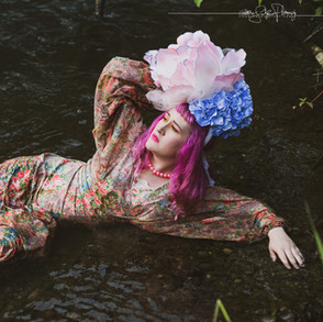 Hydrangea Bloom Headpiece