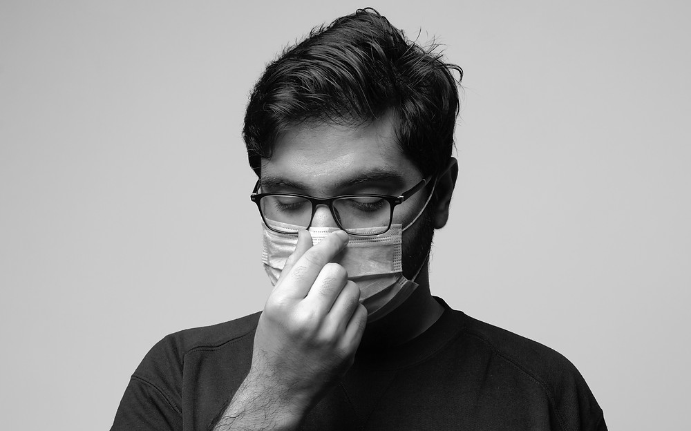 tips for glasses users when wearing face mask