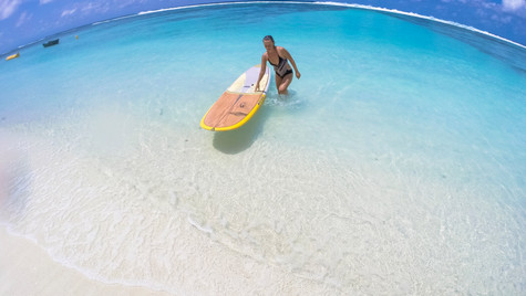 The best day for surfing