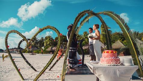 Finally, the wedding vows