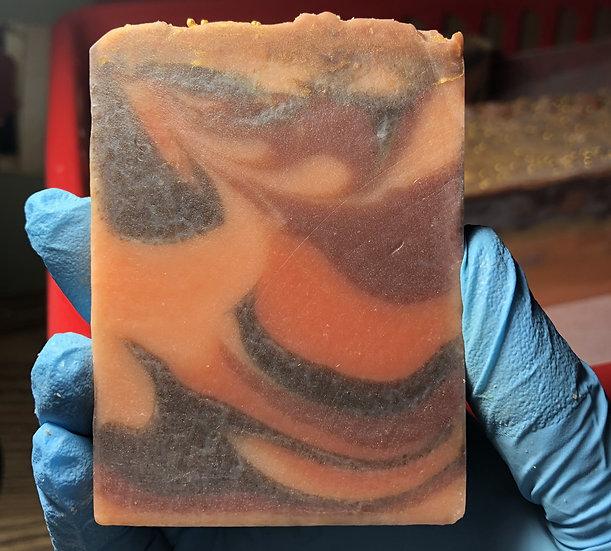 Fresh cut cold process soap