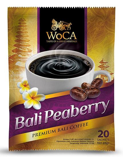 WoCA Peaberry Bali Coffee 20 Sachet