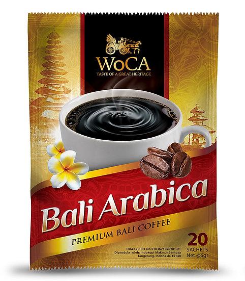 WoCA Arabica Bali Coffee 20 Sachet
