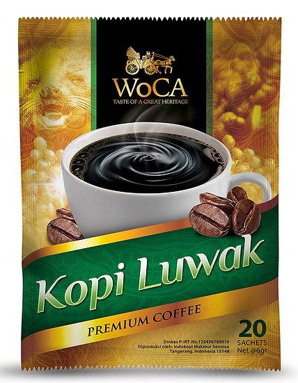 WoCA Luwak Coffee 20 Sachet