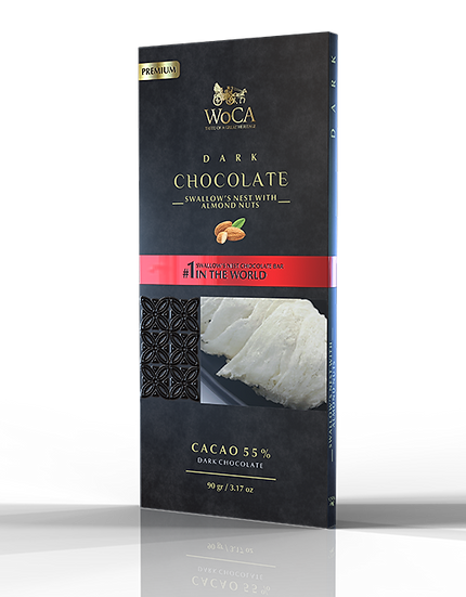 Dark Chocolate with Bird's Nest
