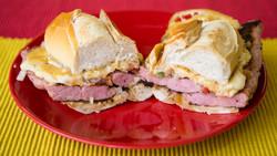 sanduiche de calabresa