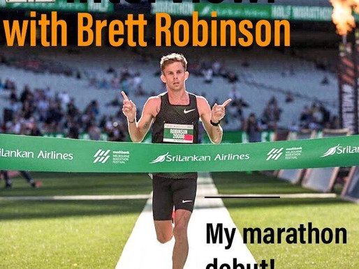 Blog 40- An interview with Brett Robinson about his upcoming debut at the 2018 Fukuoka marathon!