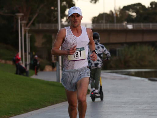 Blog 56- Goldy Build- Entry 2. The 2019 Adelaide Marathon. By Dane Verwey