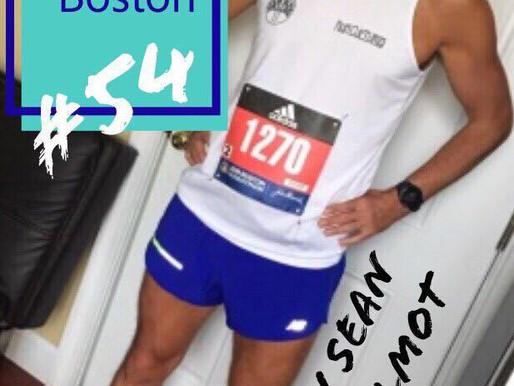 Blog 54- From Broken to Boston-            Sean Helmot's journey to the Boston Marathon.