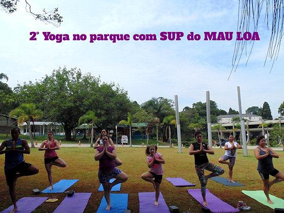 Yoga com SUP