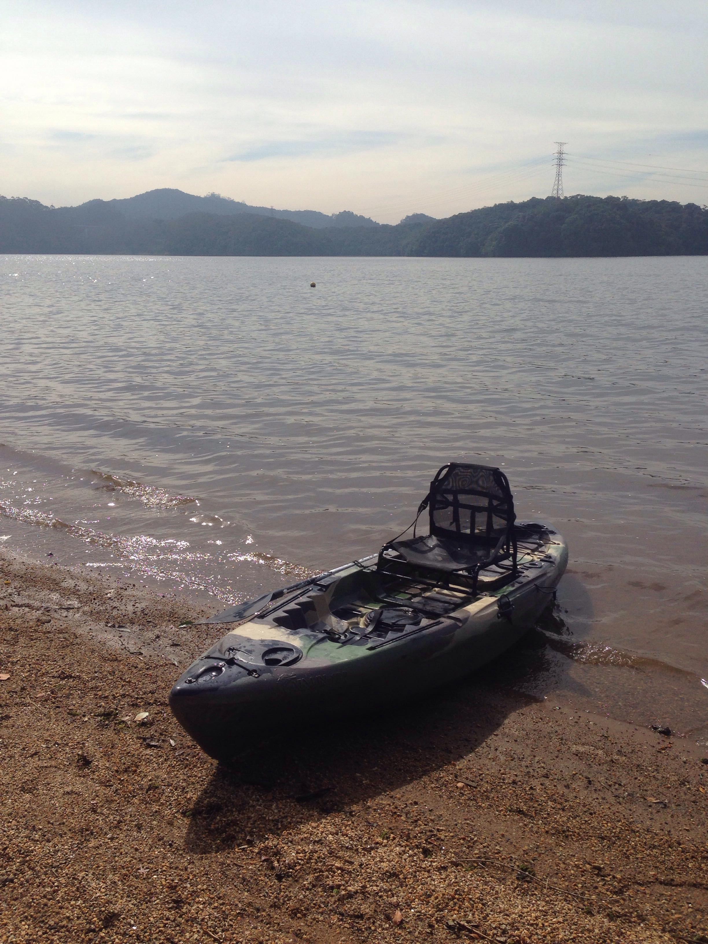 Caiaque Solo Fishing