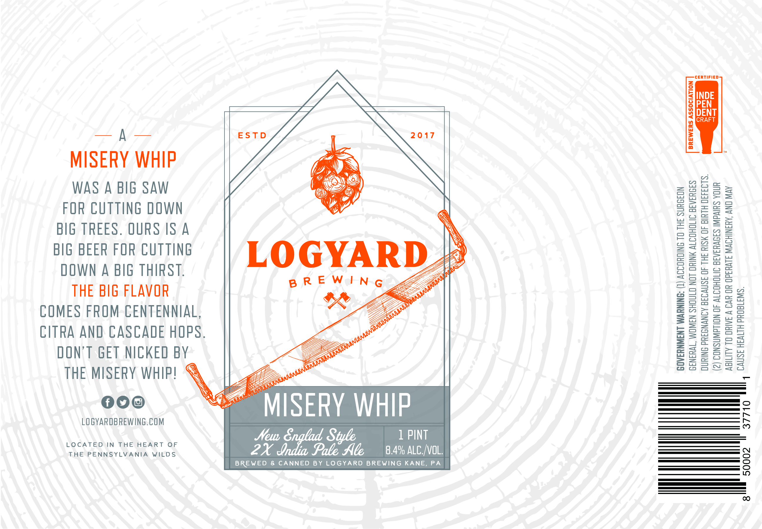 Logyard Misery Whip_16oz