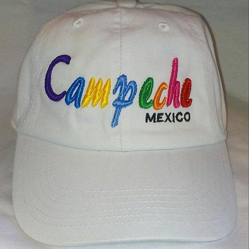 Gorra bordada Campeche