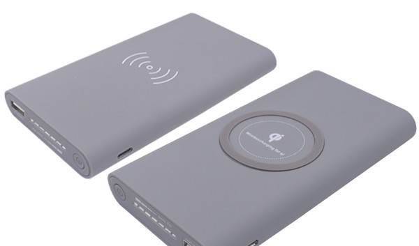 Two-Way Wireless Charger With Power Bank